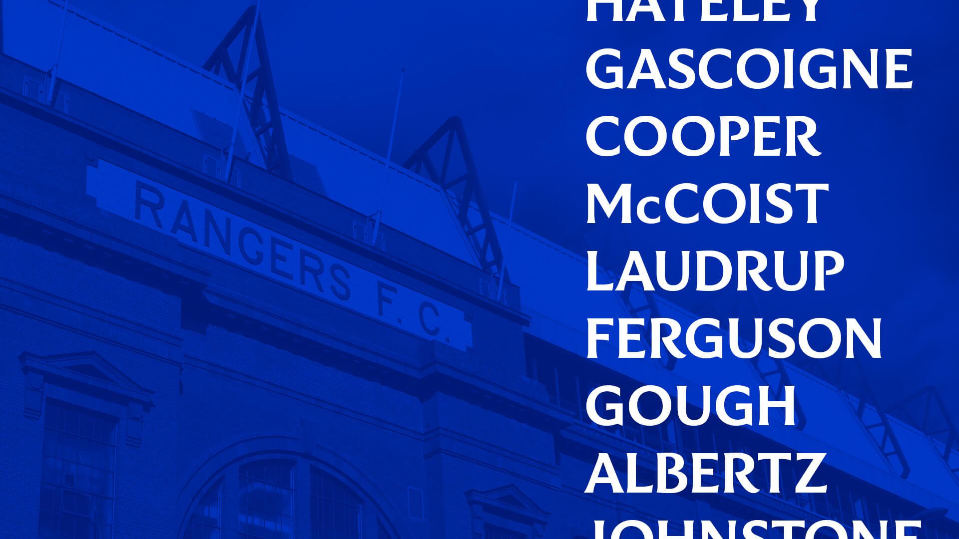 Rangers Football Club x Seesaw Creative x Craig Black - Brand Ty